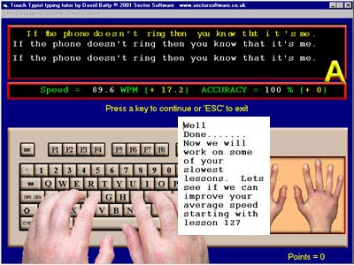 Touch Typist Typing Tutor - Learn to type software available as ...